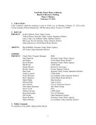 February 27, 2012 Board Minutes - Phase 2 - North Bay Water ...