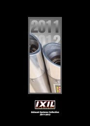 Exhaust Systems Collection 2011-2012 - Rider