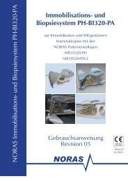und Biopsiesystem PH-BI320-PA - NORAS MRI products GmbH