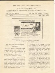 May-June 1975 - International Philippine Philatelic Society