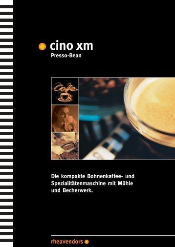 CINO XM Presso-Bean - Die Kaffee Firma