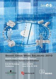 smart grids week salzburg 2010 - Energiesysteme der Zukunft