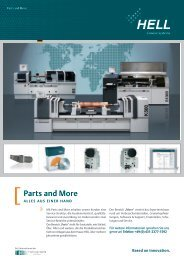 Parts and More - hell gravure systems