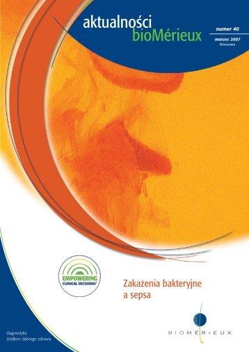 Aktualności Nr 40 - plik do pobrania (format PDF) - bioMérieux