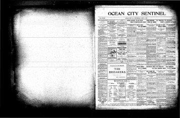OCEAN CITY SENTINEL, - On-Line Newspaper Archives of Ocean ...