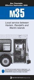 ,./ Local service between Harlem, Randall's and Ward's Islands