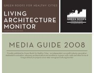 MEDIA GUIDE - Green Roofs for Healthy Cities