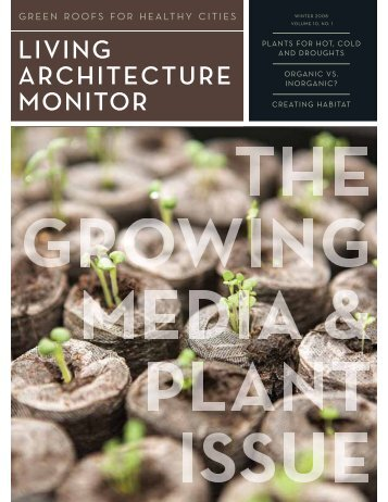 Living Architecture Monitor - Green Roofs for Healthy Cities