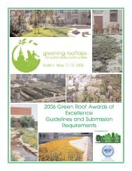 Awards of Excellence Submission 2006.qxd - Green Roofs for ...