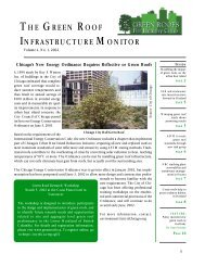 the green roof infrastructure monitor - Green Roofs for Healthy Cities