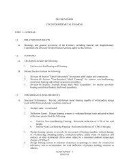 1 09/07/10 SECTION 054000 COLD-FORMED METAL FRAMING ...