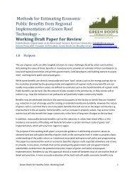 Methods for Estimating Economic Public Benefits from Regional ...