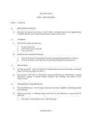 10.028-052100-1 SECTION 052100 STEEL JOIST FRAMING PART ...