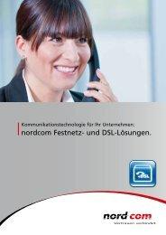 nordcom Festnetz- und DSL-Lösungen.