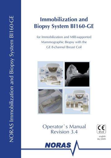 Manual BI160-GE - NORAS MRI products GmbH