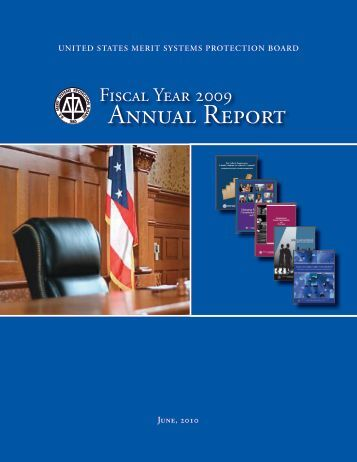 Annual Report - MSPB Watch