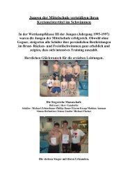 Beim Schwimmen erfolgreich - Grundschule - Mittelschule ...