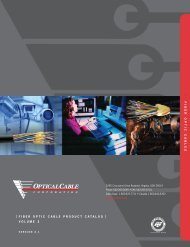 Fiber optic cables - ConnectWorld