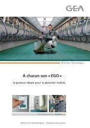 A chacun son «EGO» ... - GEA Farm Technologies