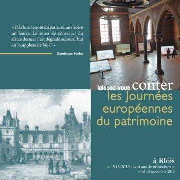 Programme 2013 à Blois - Ministère de la Culture et de la ...