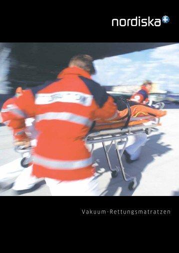 Vakuum-Rettungsmatratzen - Nordiska