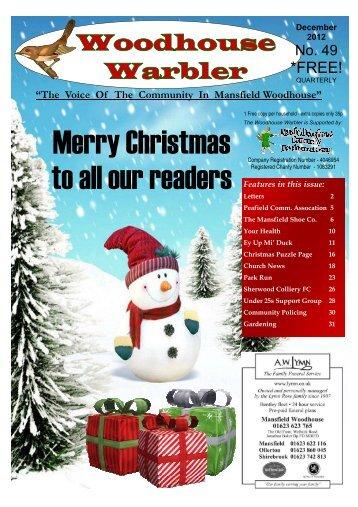 December 12 - Mansfield Woodhouse Community Website