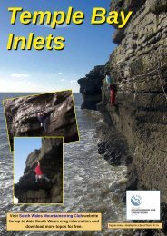 Inlets - South Wales Mountaineering Club