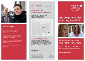 Are drugs or alcohol affecting your life? Get in touch - Turning Point