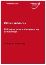 Citizen Advisors - Turning Point