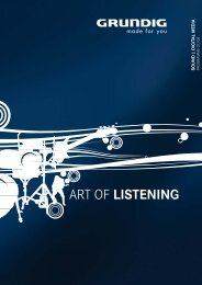 ART OF LISTENING - Grundig