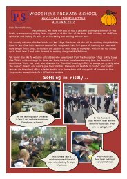 summer newsletter 2 - Woodheys Primary School