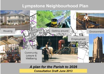 Draft for Consultation - Lympstone Village Website