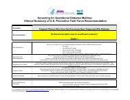 Screening for Gestational Diabetes Mellitus - US Preventive ...