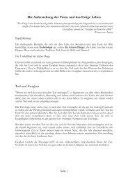 Die Auferstehung der Toten und das Ewige Leben - Seite 1