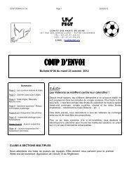 CPE N° 06 du 23.10.2012 - FSGT 92