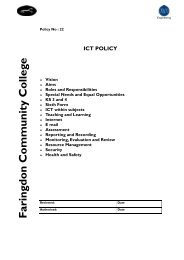 ICT Policy.pub - Faringdon Community College