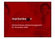 Wertorientiertes Markenmanagement 30 ... - Lebenswelt Heim