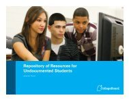 Repository of Resources for Undocumented Students (pdf)