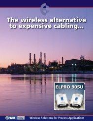 ELPRO 905U Wireless I/O