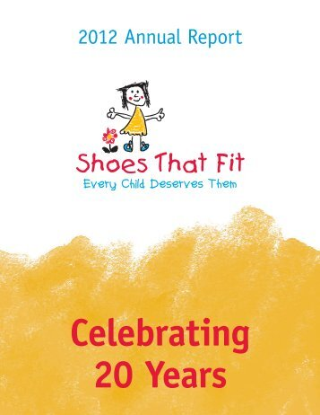 2012 Annual Report - Shoes That Fit