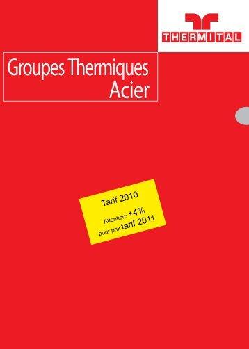 Groupes Thermiques Acier - EMAT