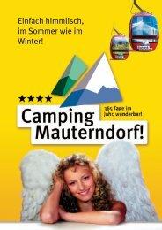 Prospekt-Camping Mauterndorf.indd - Urlauber-Tipp.de