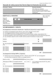 Annexe 2 de la Directive III / 2.5.11.1 - kkf oca