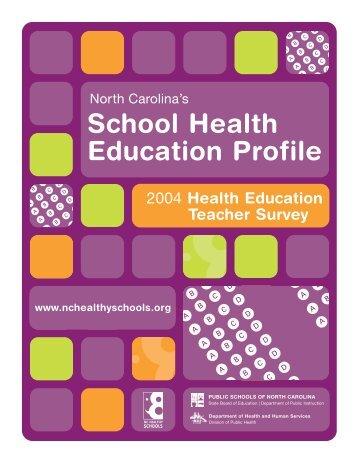 pdf, 944kb - North Carolina Healthy Schools