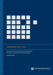 DEMOGRAFIE 2020 - Odgers Berndtson