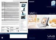 VAIO L VAIO - Sony Style