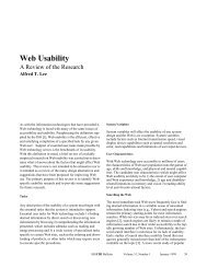 Web Usability A Review of the Research