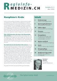 Gesundheitsmagazin Juni 2010 / PDF, 1.29 MB - Klinik Linde