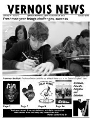 2013_Vernois News - Mount Vernon Township High School