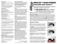 RMS-EZ 38/480-1320 Instructions - AeroTech